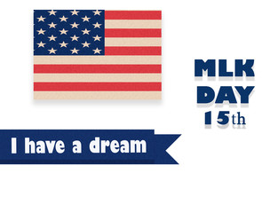 444039858a4 Martin Luther King Day illustration