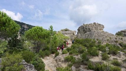 Cirque de Mourèze, Hérault, Languedoc-Roussillon, Occitanie,  France