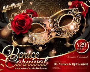 Venice Carnival design