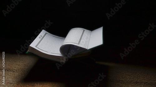 Bible of Muslims' book  Quraan  Kuran  Islamic holy books