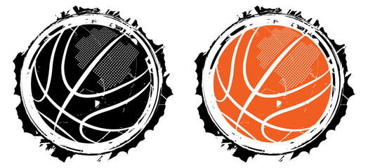 Estores personalizados de deportes con tu foto Basketball design- vector illustration for t-shirt