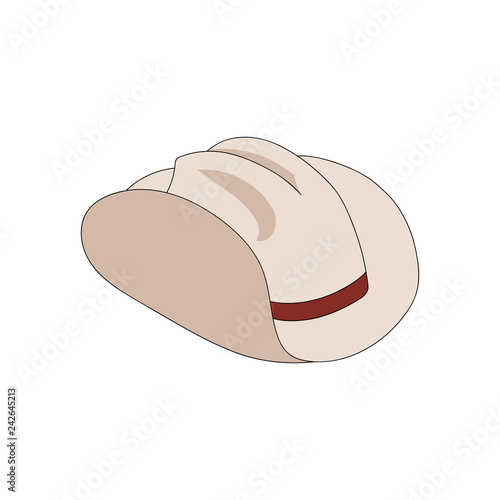 0d49d7a54d6 Hand drawn cowboy hat. Texas american clothing for Nashville country  festival. Vector isolated sheriff