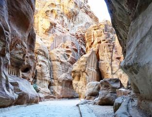 Jordan. The Canyon of Petra