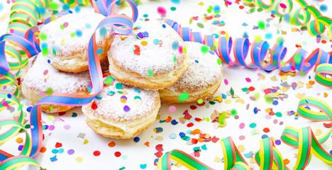 Faschingszeit Pfannkuchen