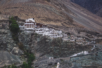 Diskit Gompa is the oldest and largest Buddhist monastery in the Nubra Valley of Ladakh, northern India.