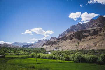 Beautiful mountain view at Jammu and Kashmir state, India
