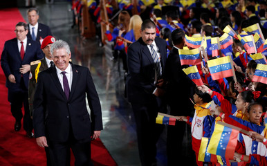 Venezuelan President Nicolas Maduro's swearing-in ceremony in Caracas