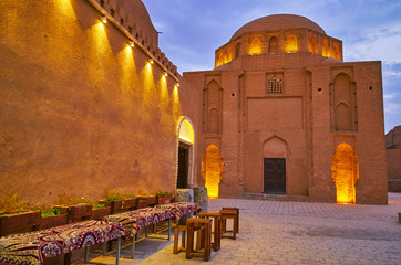 Davazdah Imam (Twelve Imams) Mausoleum, Yazd, Iran