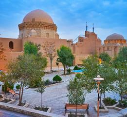 Evening in old Yazd, Iran
