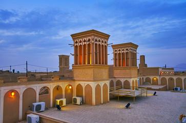 Badgirs of Tehraniha House, Yazd, Iran