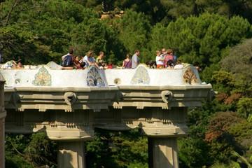 Parc Guell - Antoni Gaudí Architecture