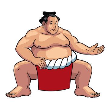 sumo wrestler of japan