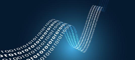 sfondo, dati, codice binario, internet, pixel