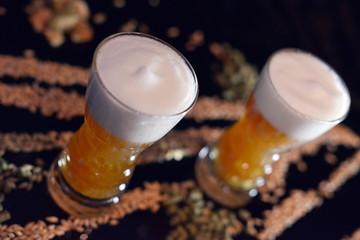 bière mousse