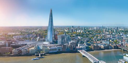 Wall Mural - modern office buildings skyscraper in London city skyline