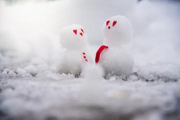 Lets build a snowman!