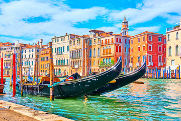 Acrylic Prints Venice Grand Canal in Venice