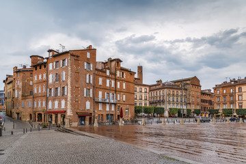 Square in Albi, France