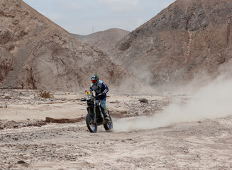 Dakar Rally - 2019 Peru Dakar Rally - Stage 4 (Bike/Quad) from Arequipa to Moquegua, Peru
