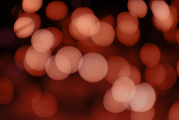 Abstract bokeh background. The lights are out of focus.