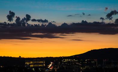 Sonnenaufgang Stuttgart