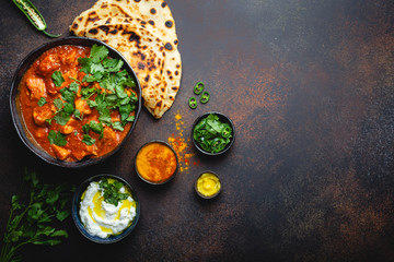 Indian dish Chicken tikka masala
