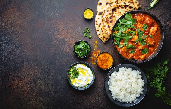 Indian dish Chicken tikka masala
