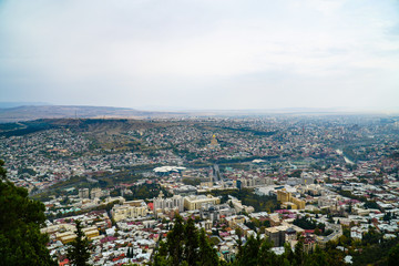 The beautiful Georgian city of Tbilisi