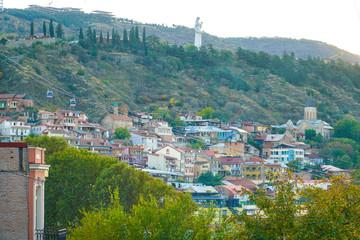 The beautiful Georgian city of Tbilisi