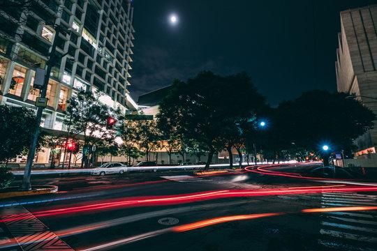 Night Cityscape Mexico
