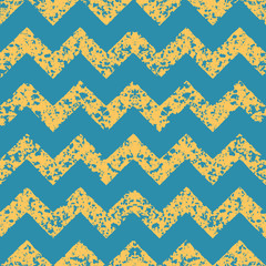 Chevrons seamless grunge pattern