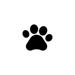 pawprint icon vector. pawprint vector graphic illustration
