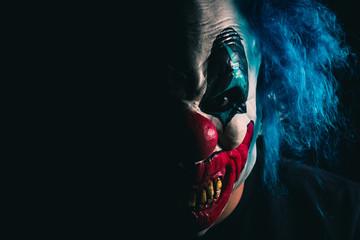 Creepy Clown Portrait