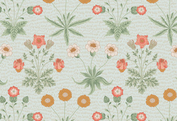 Daisy by William Morris (1834-1896). Original from The MET Museum. Digitally enhanced by rawpixel. - 242771609