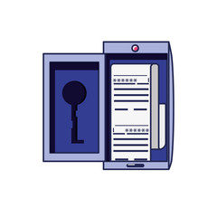smartphone device with document password