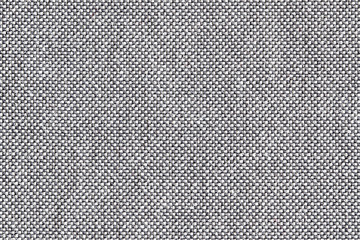 Gray and white thread fabric pattern texture.