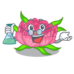 Professor peony flowers in the cartoon pots