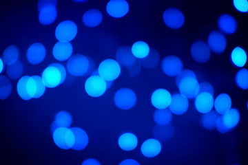 Black and Blue Abstract Bokeh Background