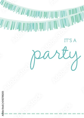 Cute Party Invitation Template Youre Invited