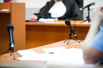 courtroom of russia