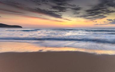 Soft Pastel Colours Sunrise Seascape