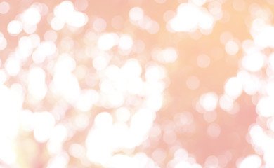 Abstract of bokeh pastel background.