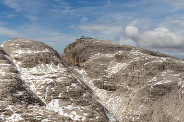 Dolomiti Mountains in Val di Fassa Italy
