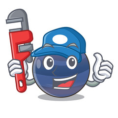 Plumber picture neptune planet in cartoon form