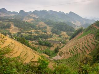 Landschaft in Yunnan in China