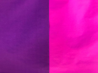 vertical pink and purple color paper texture wall background.