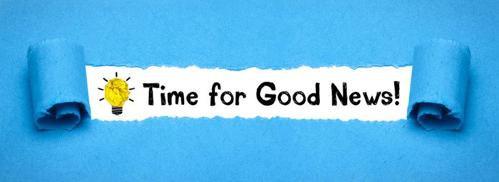 Time for Good News!