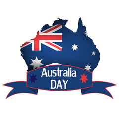 Australia day. Vector illustration