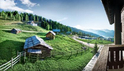 Bergwelt Hütten