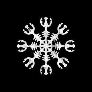 Aegishjalmur, Helm of Awe, Viking Symbol